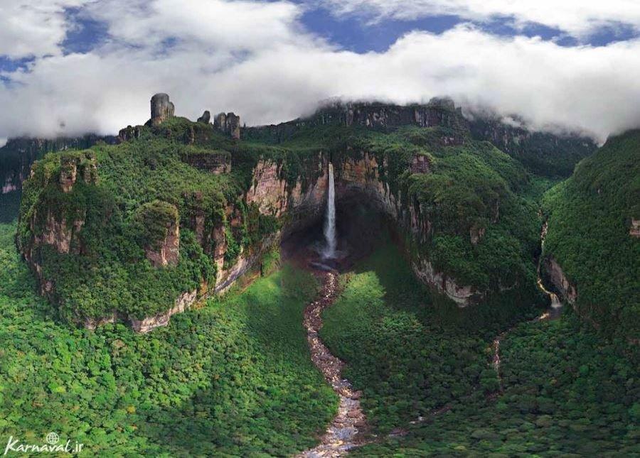 آبشار فرشتگان و کوه رورایما، در جهانی گمشده!