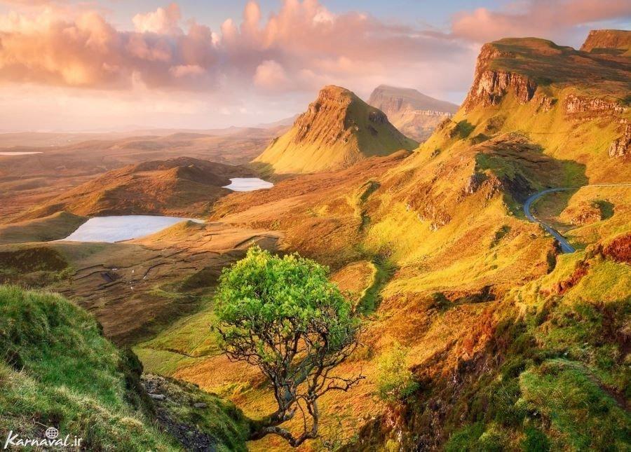 جزیره ی پریان در اسکاتلند