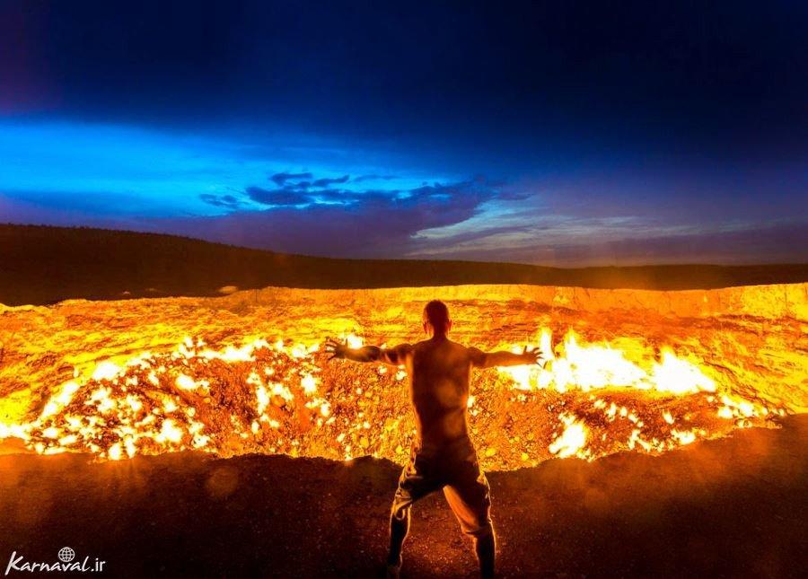 دروازه جهنم ؛ ترکمنستان