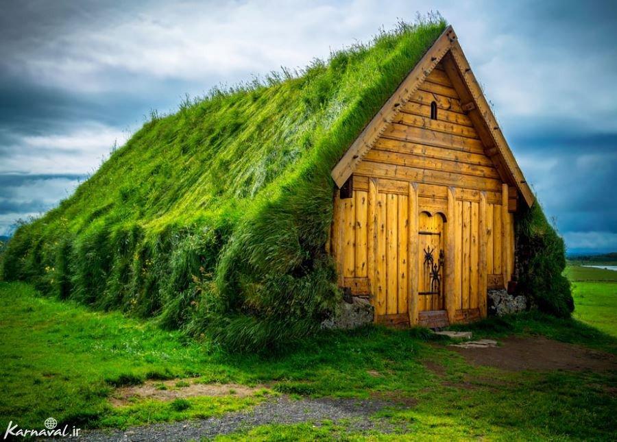 پشت بام های سبز ، اسکاندیناوی