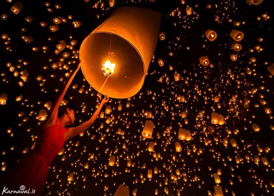 جشنواره فانوس تایلند