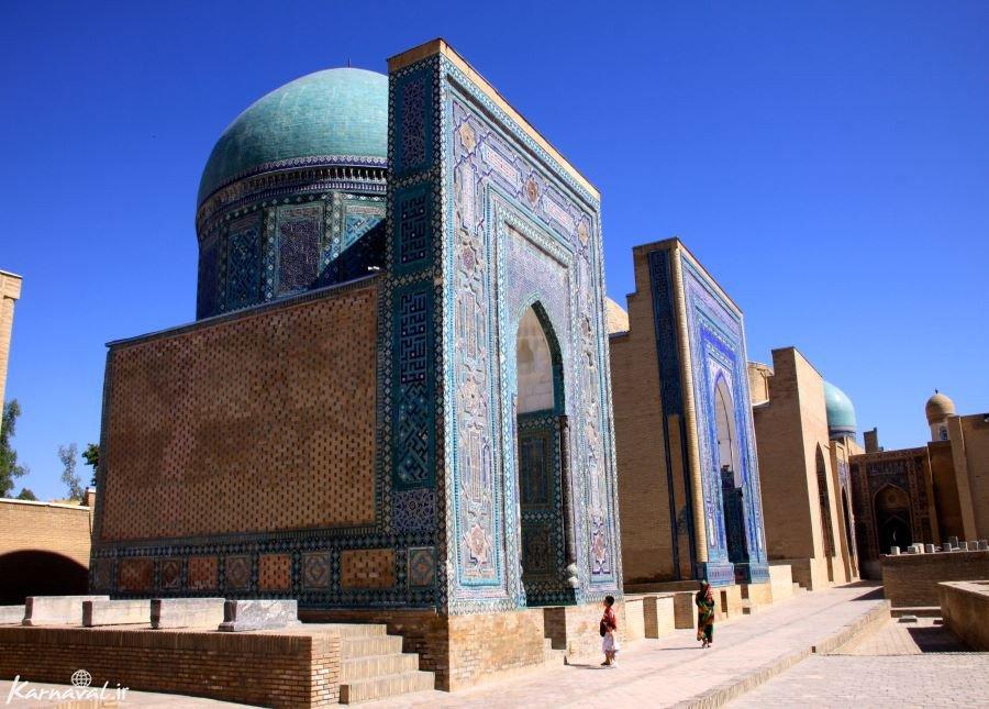شاه زنده ; آرامگاهی به بلندای تاریخ اسلام