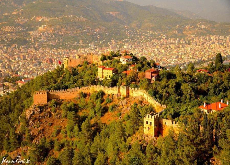 قلعه آلانیا ترکیه
