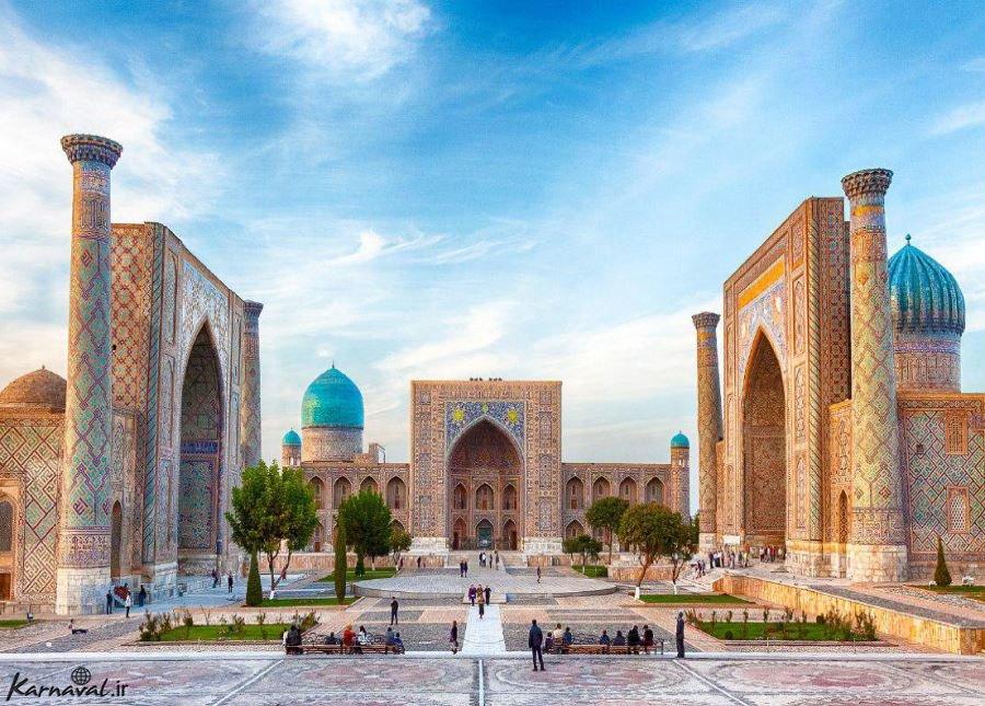 میدان ریگستان ؛ سمرقند