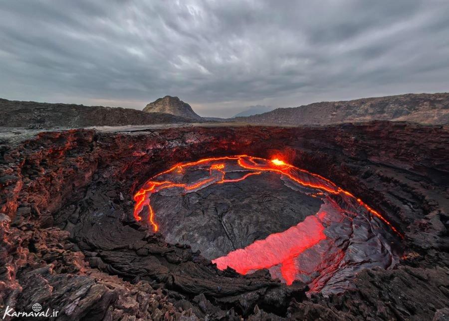 آتشفشان ارتا آله اتیوپی