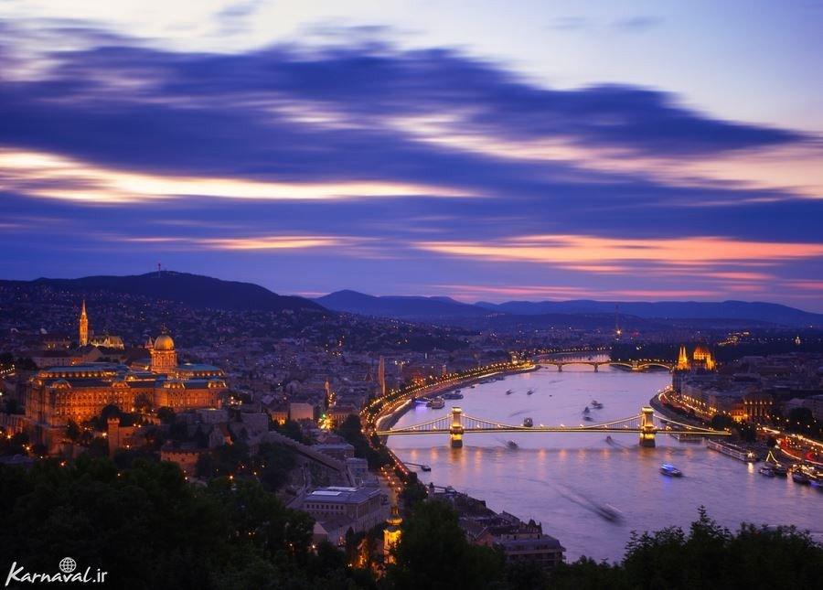 تصاویر زیبایی های بوداپست از نمایی خاص