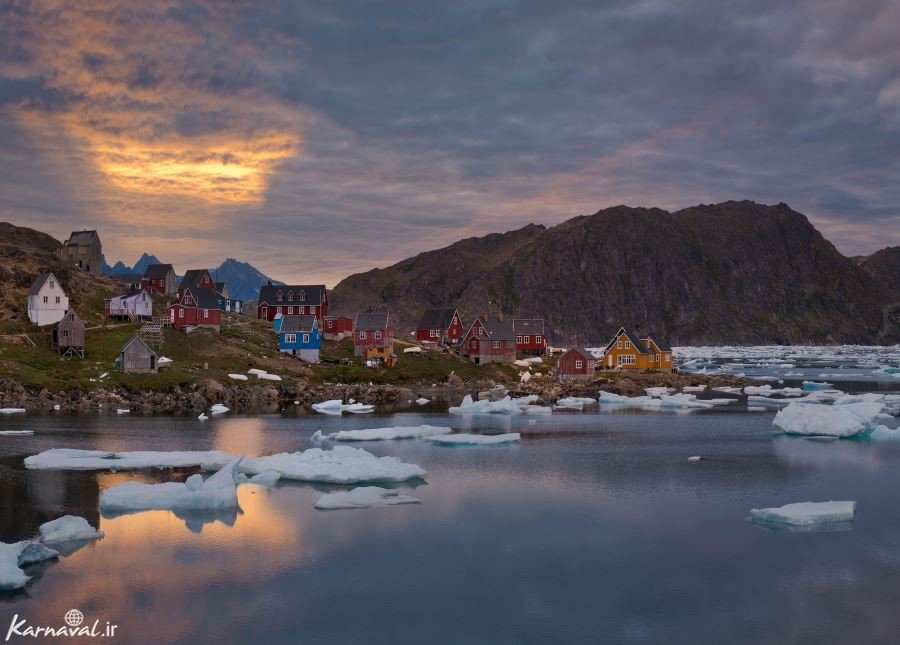 تصاویری زیبا و بکر  از طبیعت یخی گرینلند