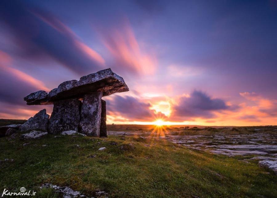 تصاویری از زیبایی های رویایی ایرلند