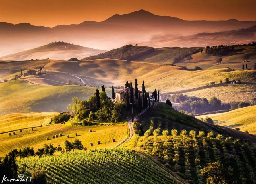 تصاویری زیبا از توسکانی ، بهشت ایتالیا