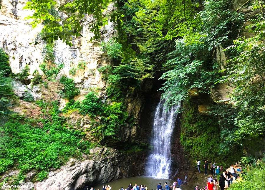 تصاویری از آبشار دودوزن خرمکش