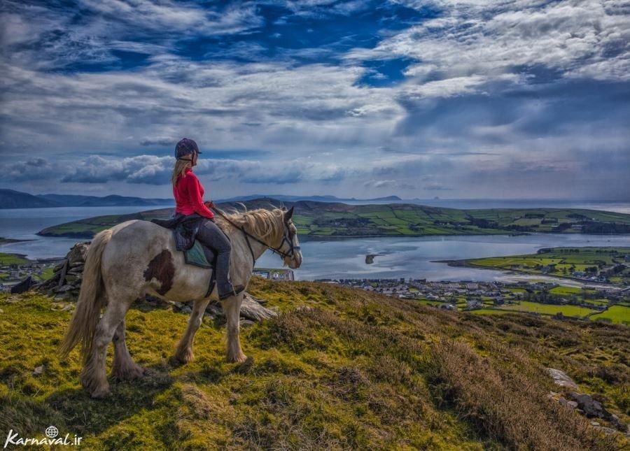 تصاویری بینظیر از زیبایی های ایرلند