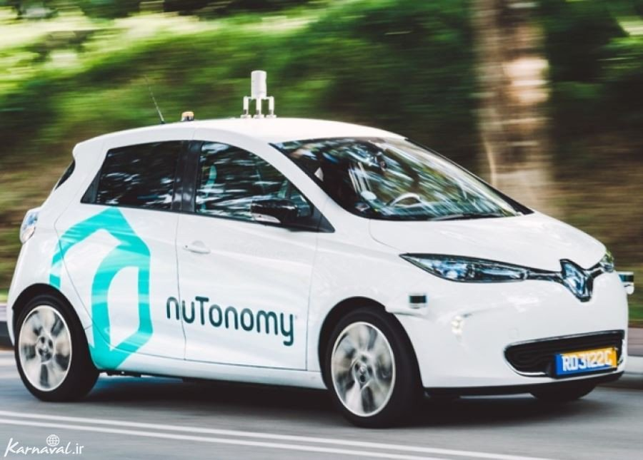 اولین تاکسی های خودران در سنگاپور