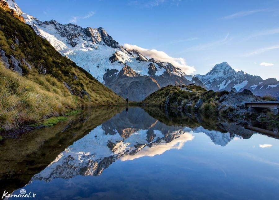 تصاویری از جاذبه های طبیعی جزیره جنوبی نیوزیلند