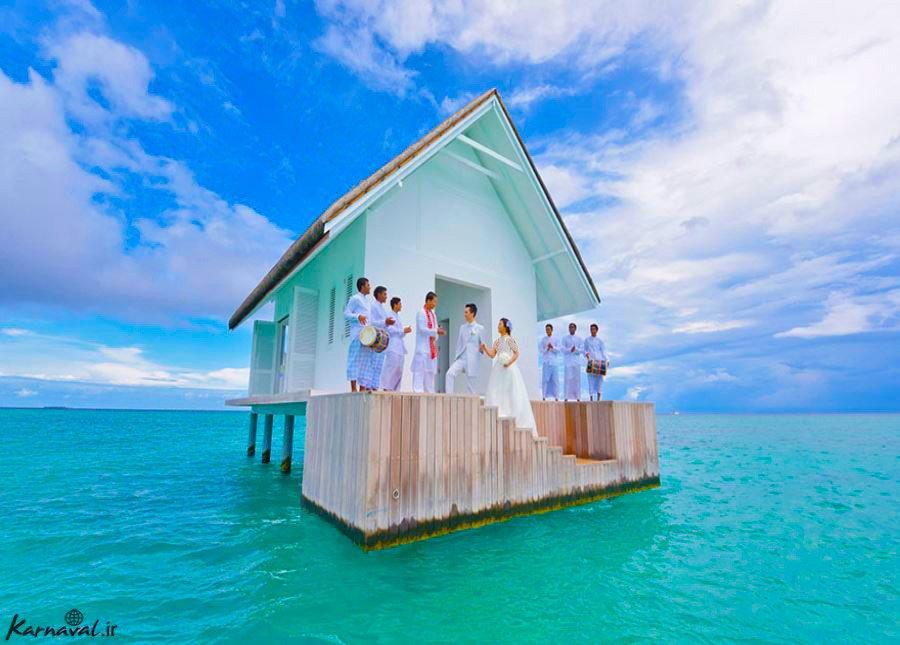 عروسی رویایی در مالدیو