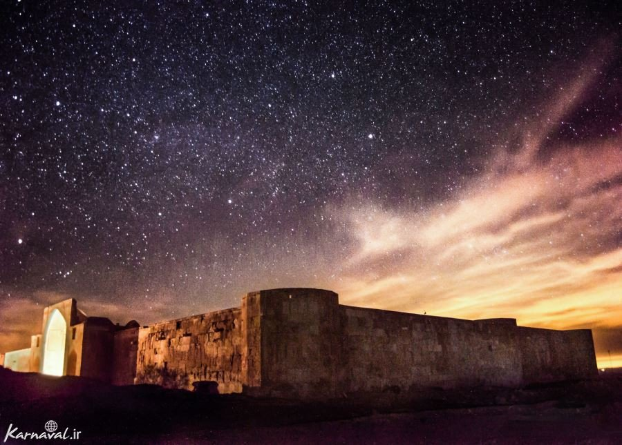 کاروانسرای قصر بهرام سمنان