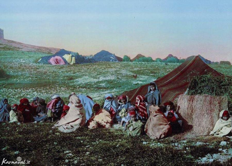 تصاویری از 100 سال پیش تونس
