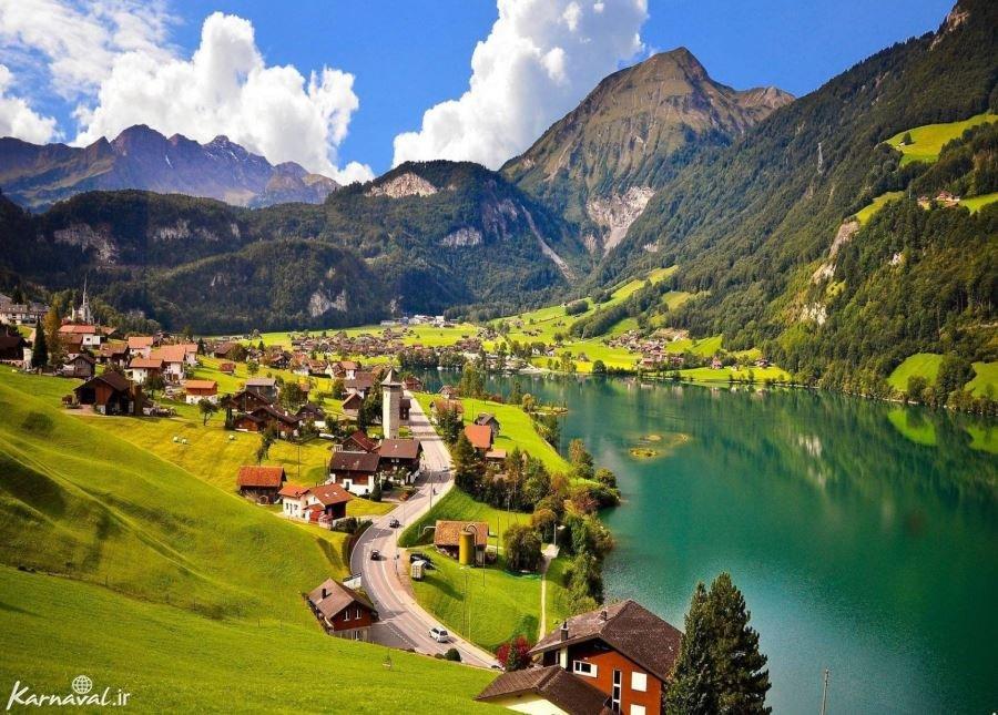 تصاویری از طبیعت سوئیس