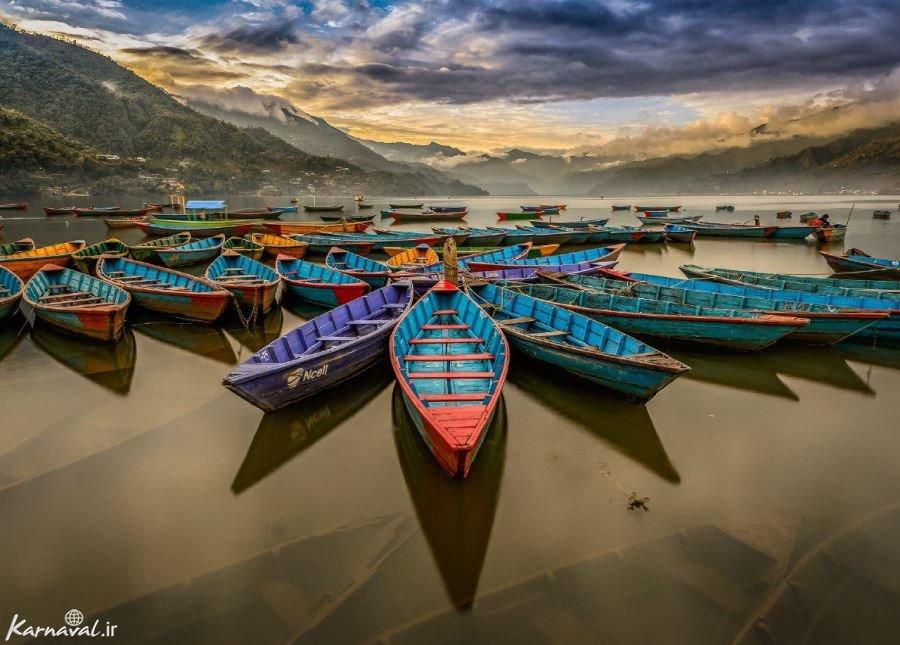 دریاچه فیوا نپال