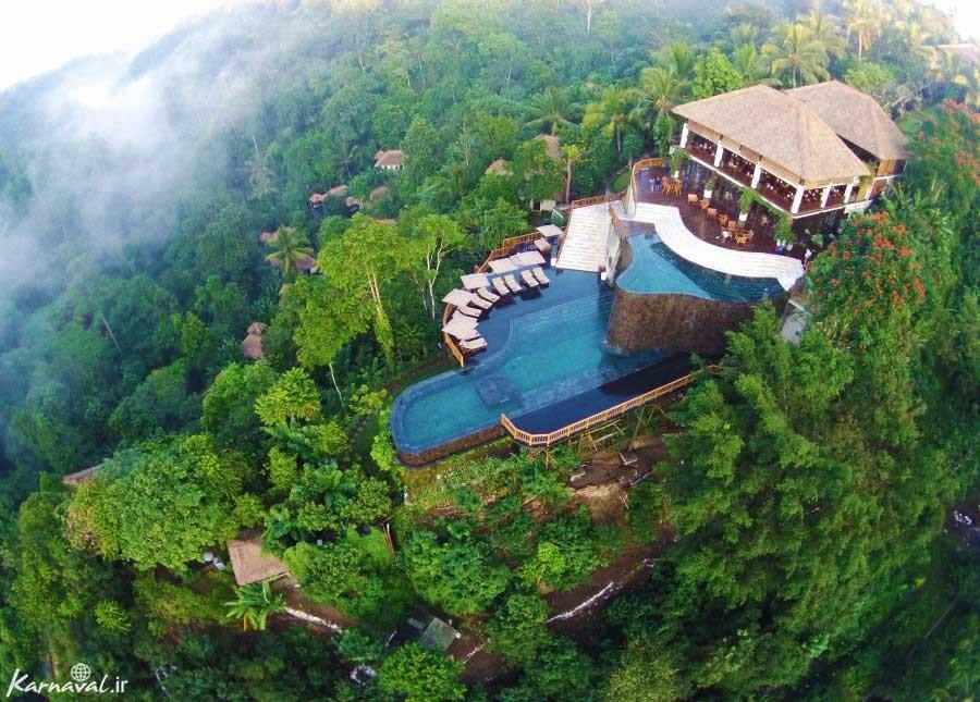 رمانتیک ترین هتل دنیا در بالی