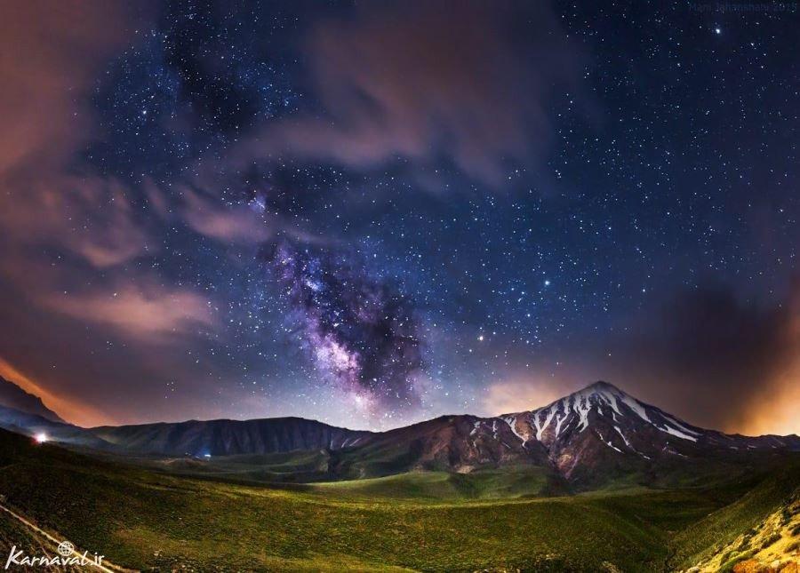 تصاویر کهکشان راه شیری