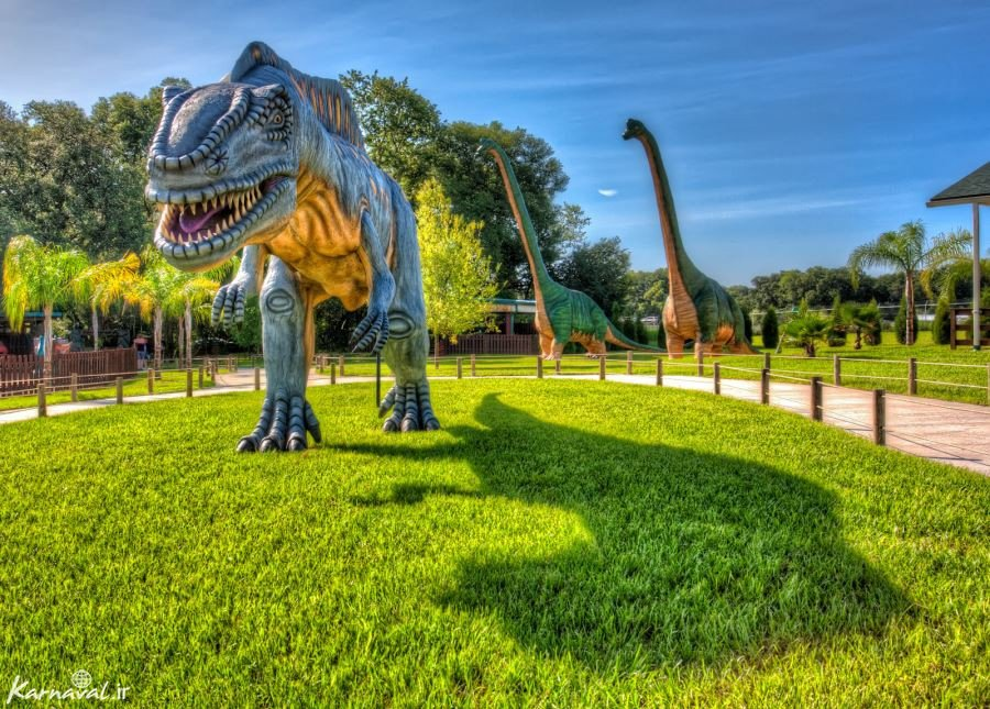 دنیای دایناسور فلوریدا