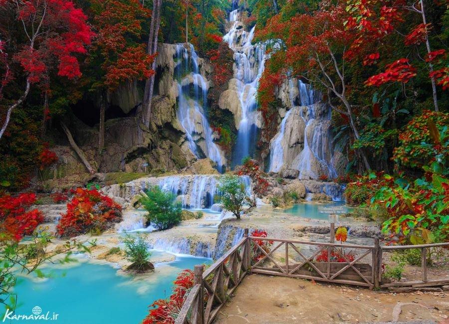 آبشار هوانگ سی لائوس