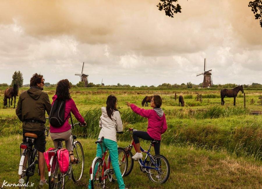 تفریحات مخصوص کودکان در آمستردام