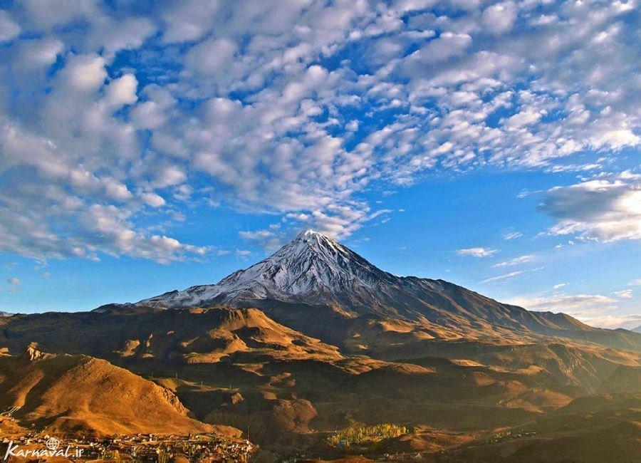 تصاویری از کوه دماوند