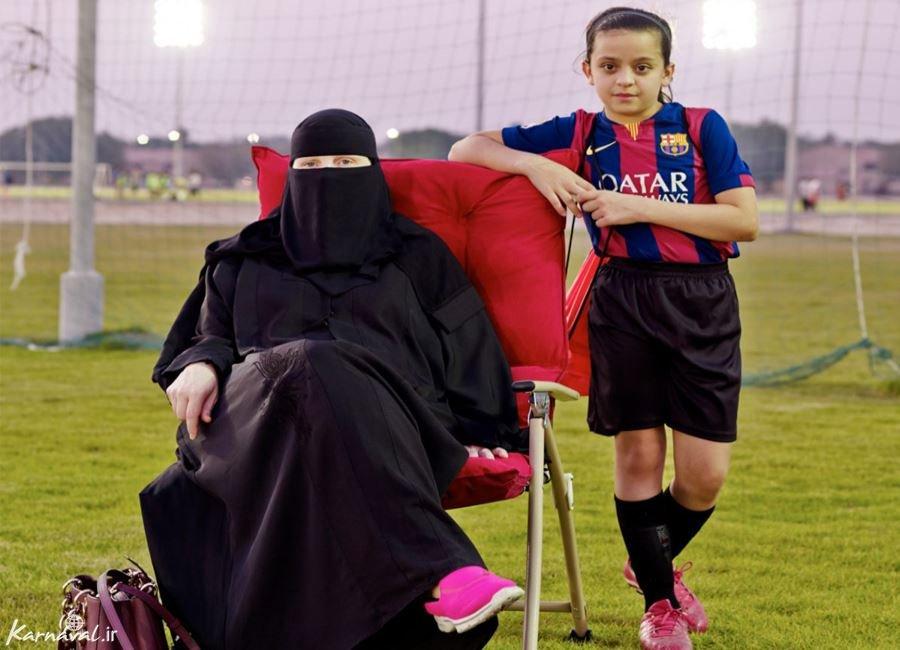 تصاویر شهرک آمریکایی ها در عربستان