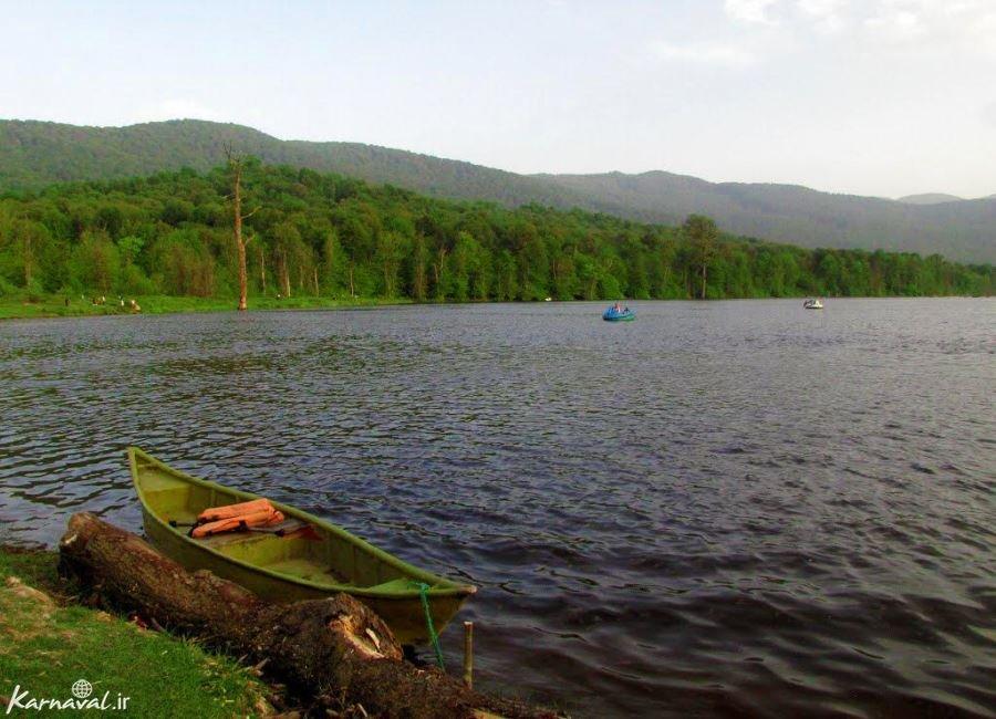 تصاویری از خشک شدن دریاچه الندان