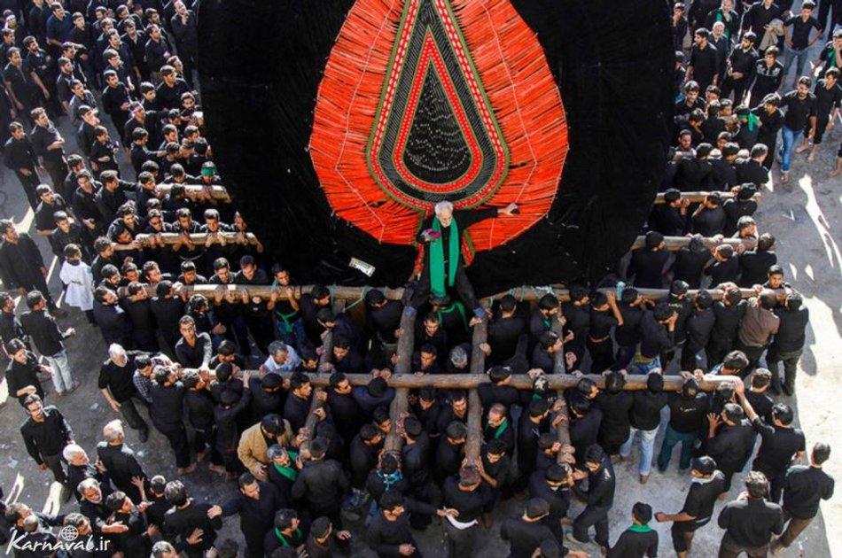 مراسم نخل گردانی   Photo by : amir hasanzade