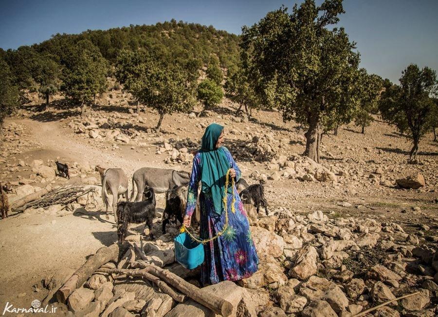 تصاویری از خشکسالی در روستاهای کهگیلویه و بویراحمد