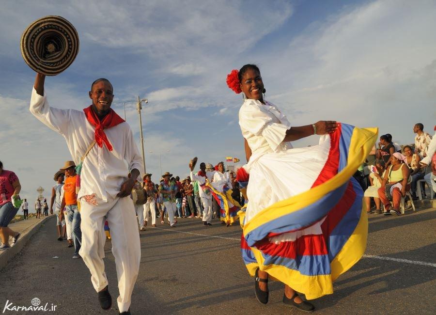 تصاویری از جشن استقلال کلمبیا