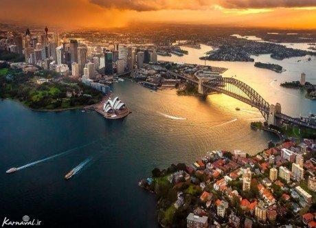 عکس های هوایی از سیدنی