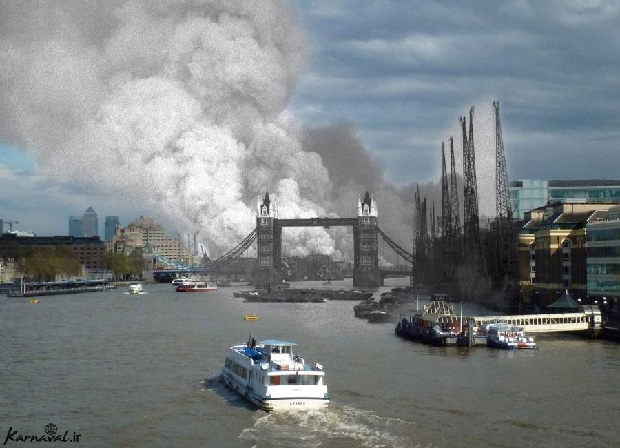 عکس های لندن در جنگ جهانی دوم