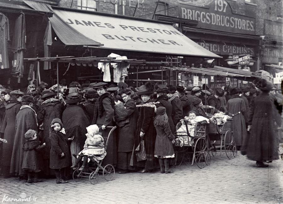 عکس های قدیمی از لندن