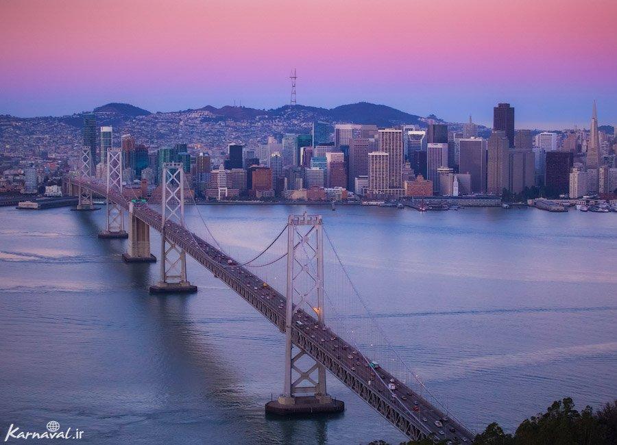عکس های هوایی سان فرانسیسکو
