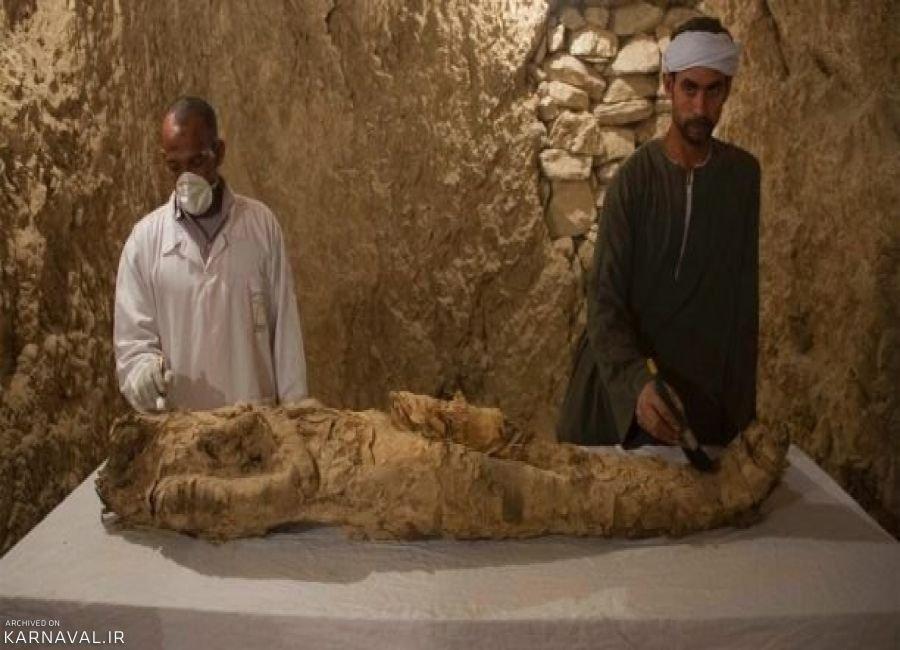 دو گور 3500 ساله در مصر کشف شد