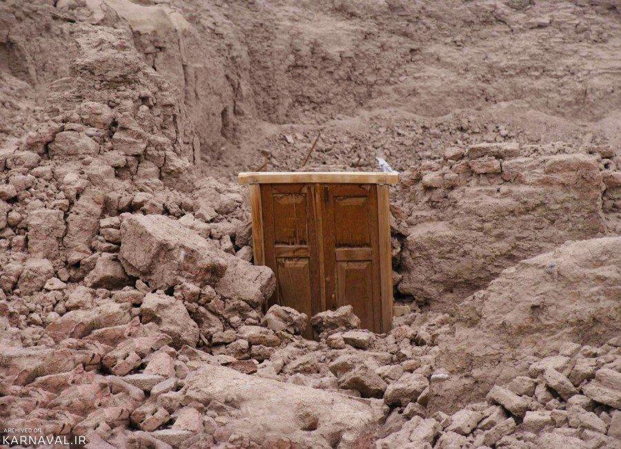 تصاویری از زلزله بم