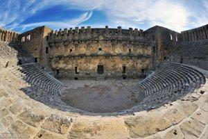 آمفی تئاتر آسپندوس آنتالیا