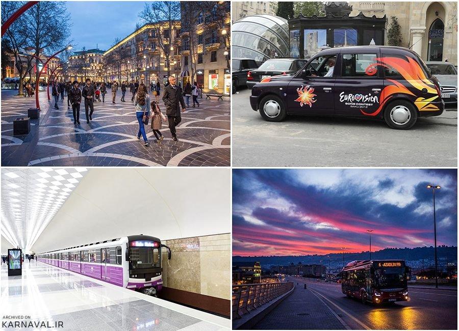 حمل و نقل عمومی باکو