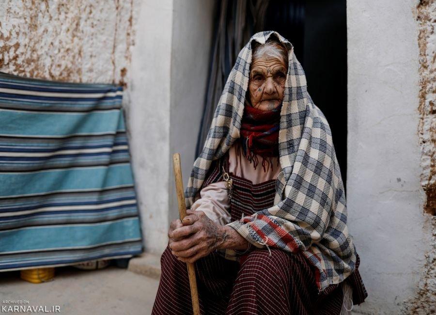 تصاویری از خانه های زیرزمینی تونس