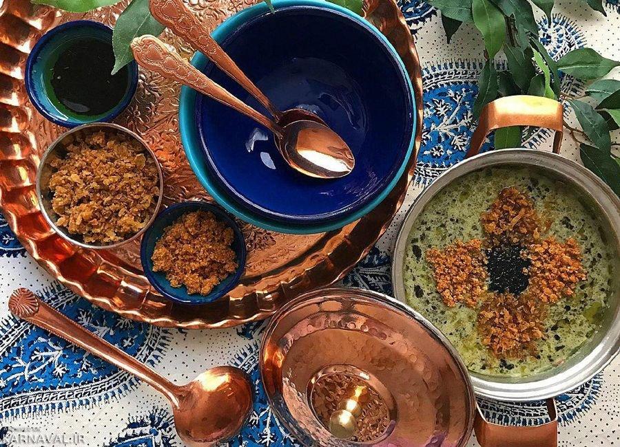 غذاهای سنتی و محلی اردبیل