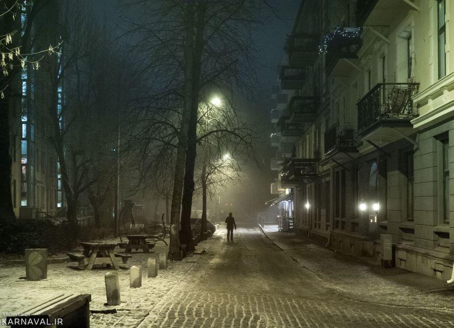 تصاویری از شب های اسلو