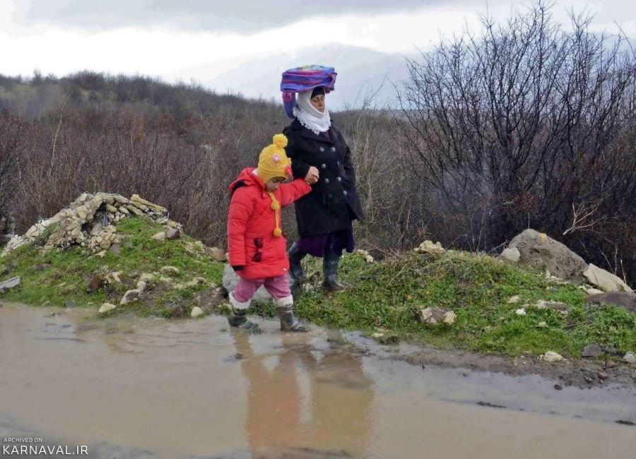 عکس های خانواده روستایی در گیلان