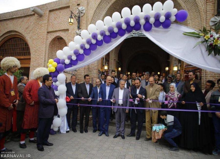جشنواره ملی فرهنگ و سنن ایرانی در قزوین آغاز به کار کرد