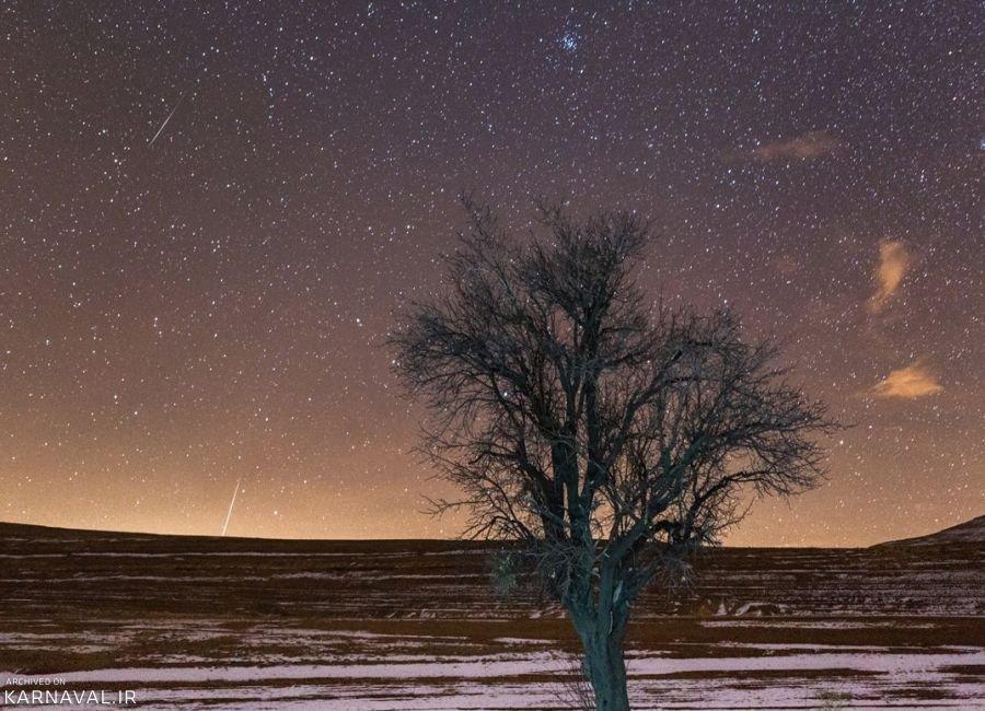 روستایی که برترین آسمان ایران را دارد