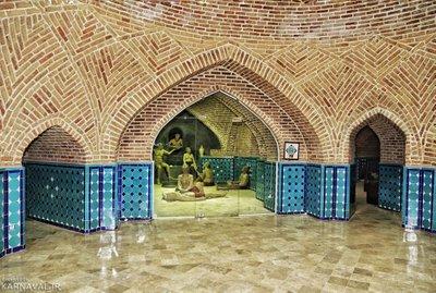 حمام قجر قزوین | آدرس ، عکس و معرفی (1399) ☀️ کارناوال