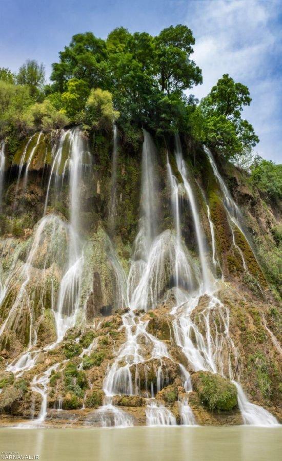 آبشار بیشه لرستان | آدرس ، عکس و معرفی (1399) ☀️ کارناوال