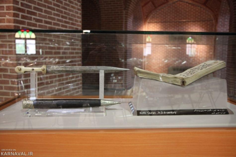 نمایش خنجر شاه عباس پس از ۳۸۹ سال